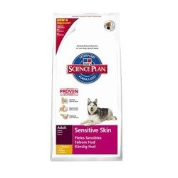 HILL'S Canine Adult Sensitive Skin Chicken 2x12kg