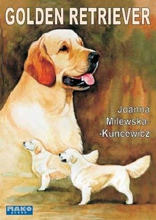 "Książka ""Golden retriever"" wyd. Mako press"