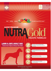NUTRA GOLD Lamb & Rice Adult Dog 15kg - sucha karma dla psa